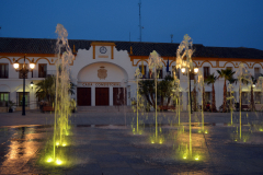 plaza-mayor-andalucia-ayuntamiento-noche