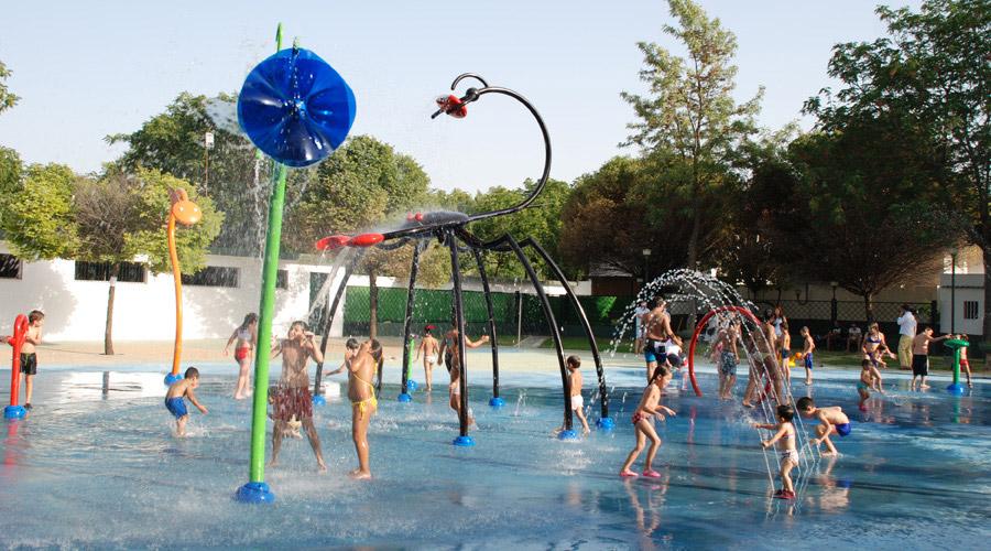 Parque Infantil Juegos de Agua - Turismo Palma del Río - Córdoba