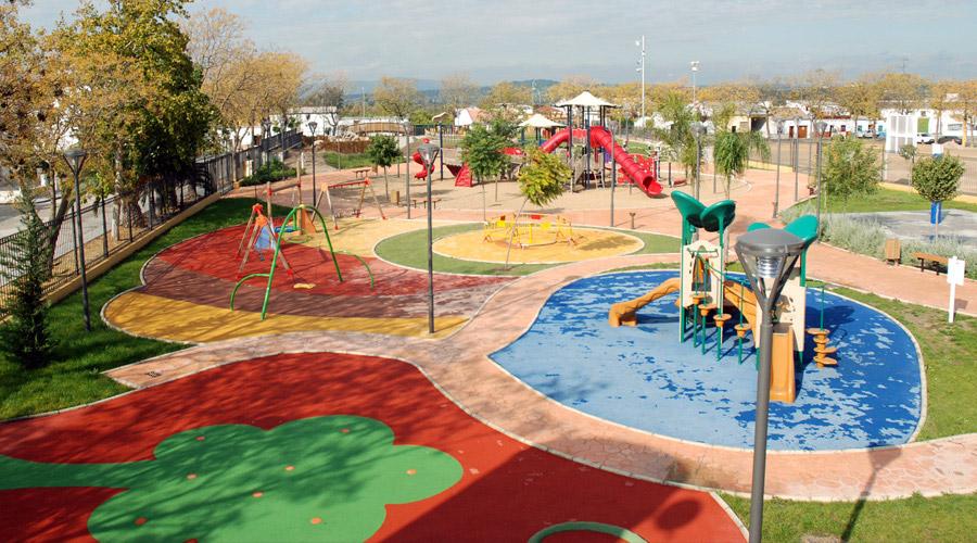 Parque Infantil La Ribera de los Niños - Turismo Palma del Río - Córdoba
