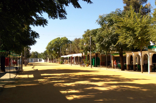 Paseo Alfonso XIII - Jardín Reina Victoria - Turismo Palma del Río - Córdoba