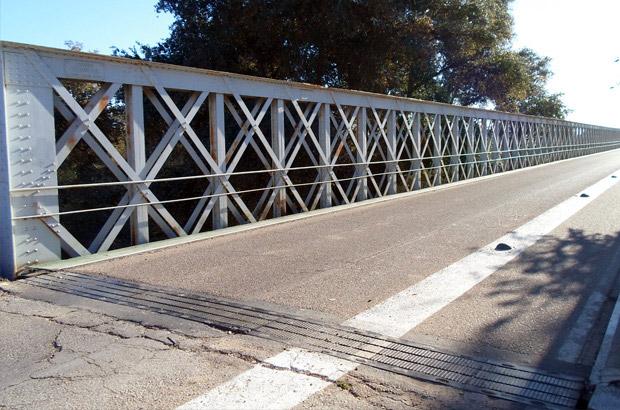 Puente de hierro río Guadalquivir - Turismo Palma del Río - Córdoba