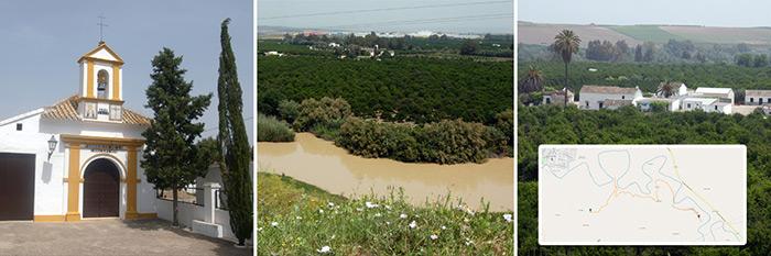 Ruta de Senderismo - Pagos de huerta - Turismo Palma del Río - Córdoba